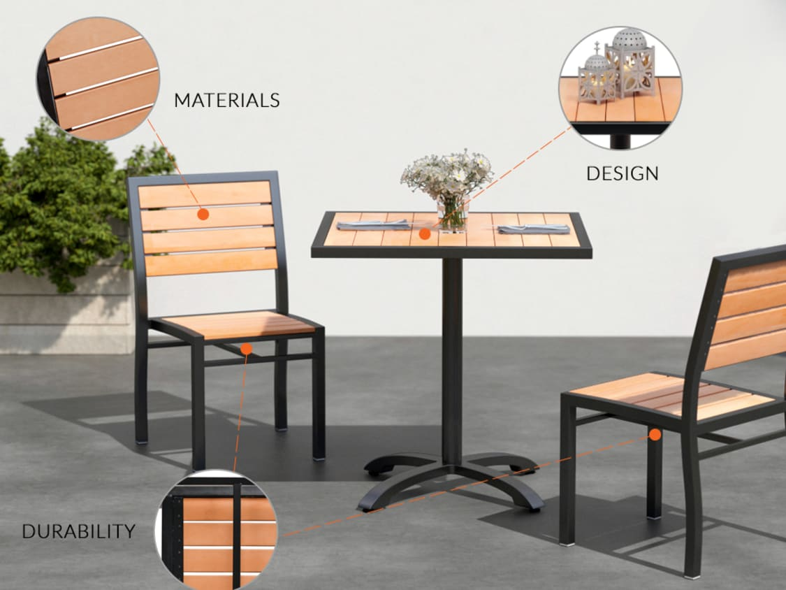 Outdoor Use Commercial Grade Furniture