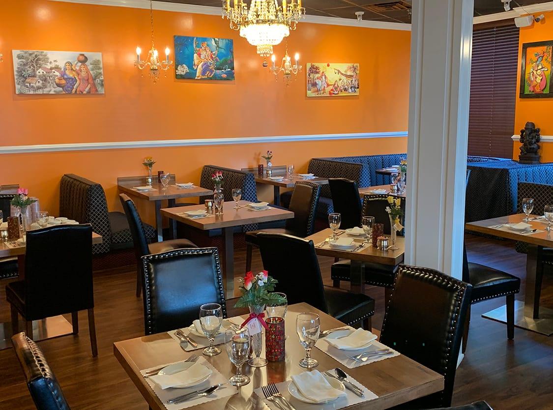 Classic Indian Restaurant Design