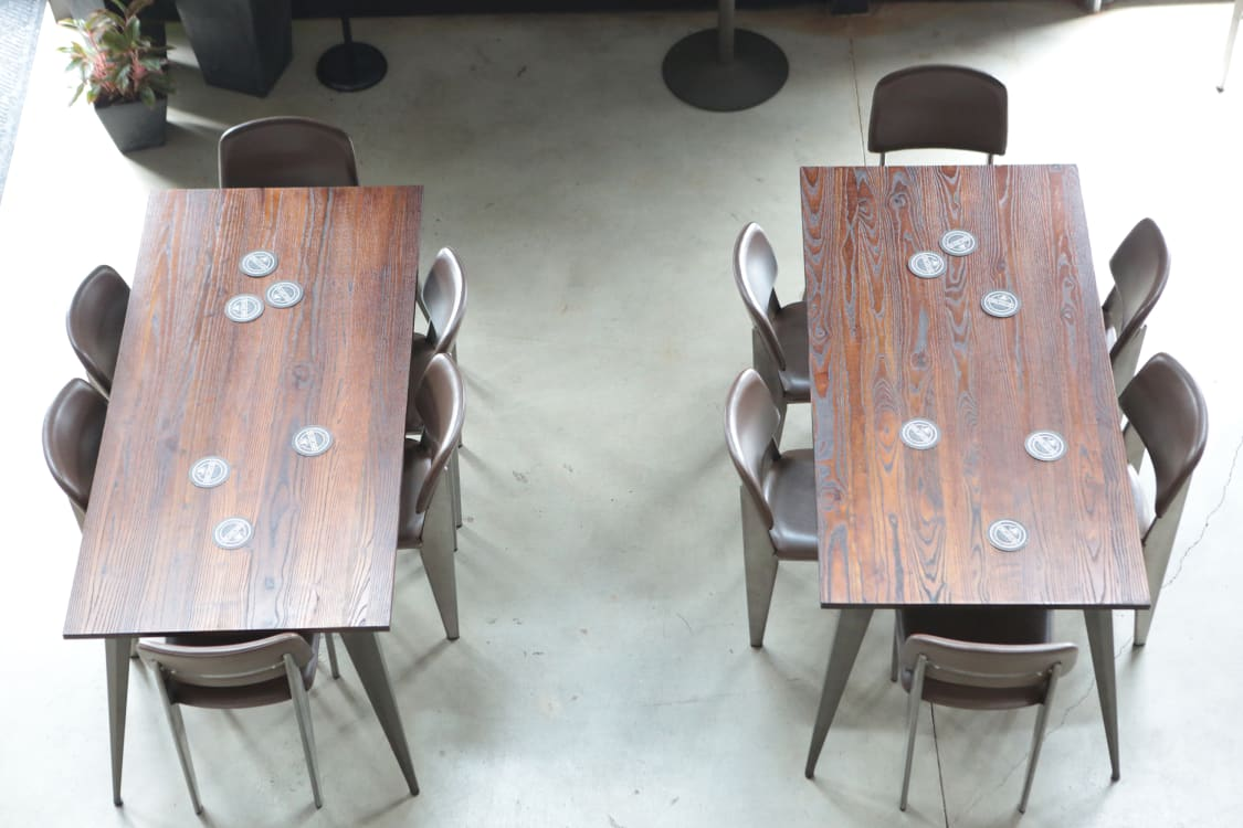 Communal Restaurant Tables
