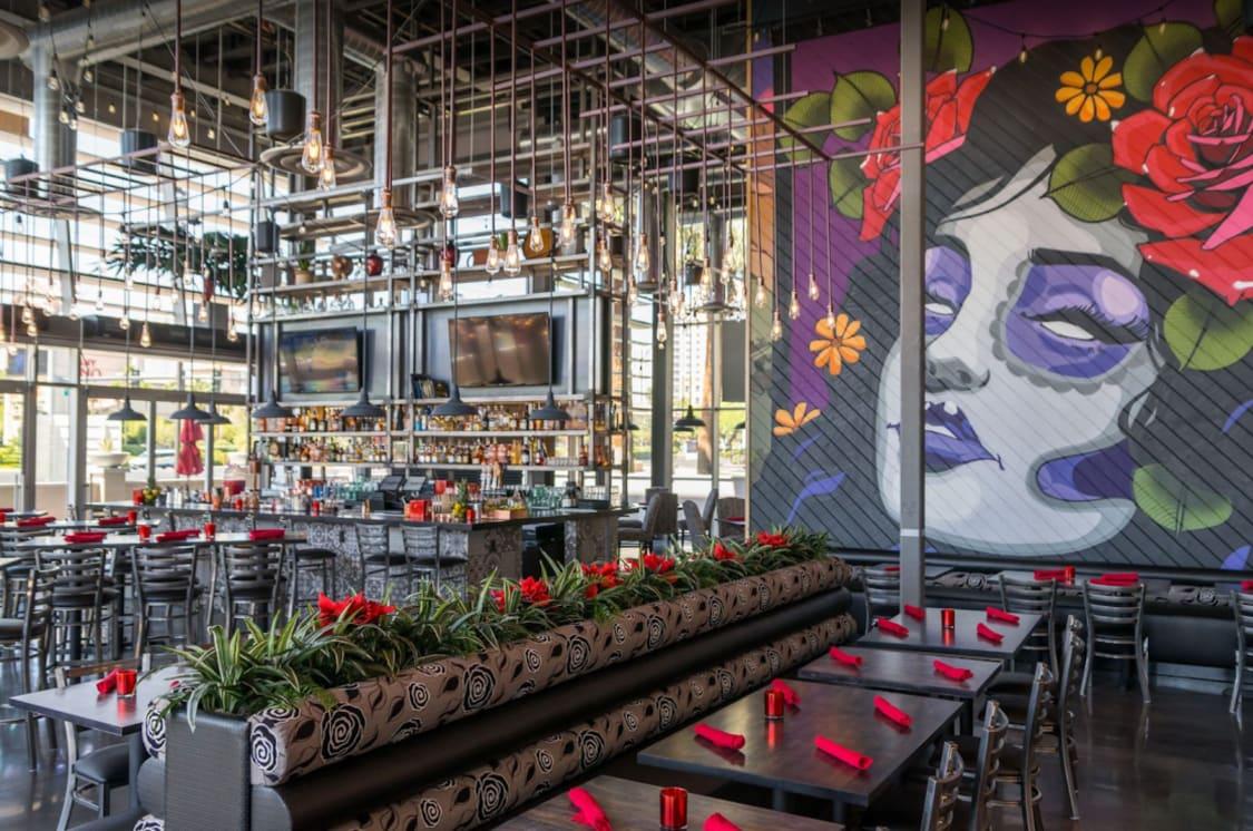 Modern Industrial Mexican Restaurant Design