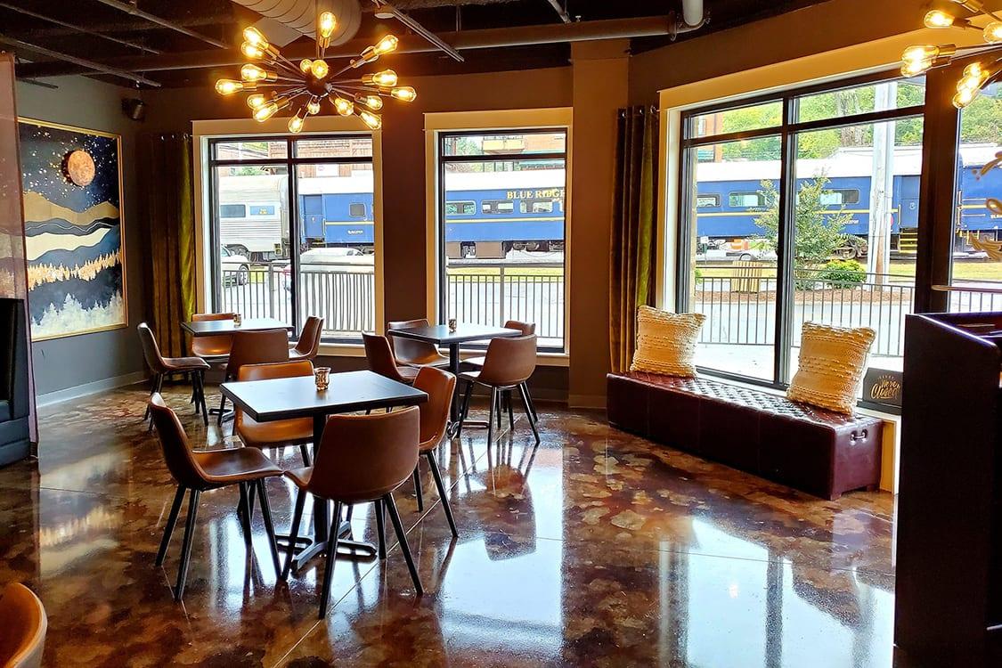 Mid Century Cafe Restaurant Design