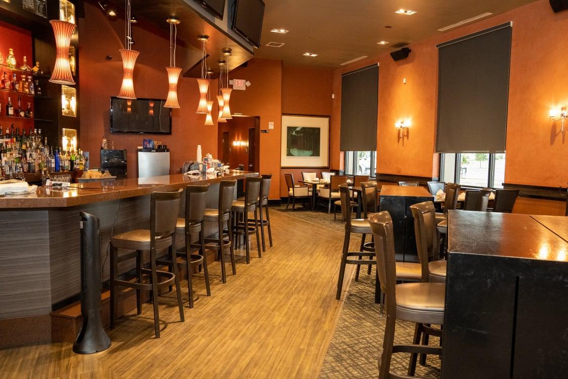 High-end restaurant bar stools