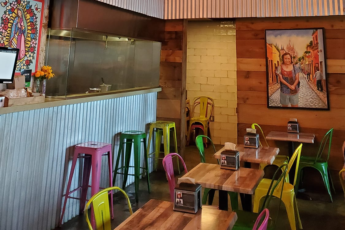 Rustic Mexican Restaurant Design