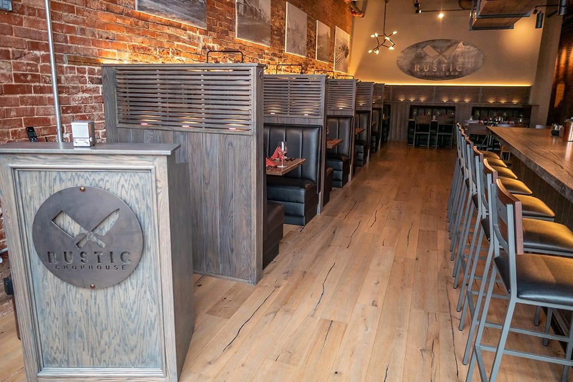 Upscale Small Restaurant Design