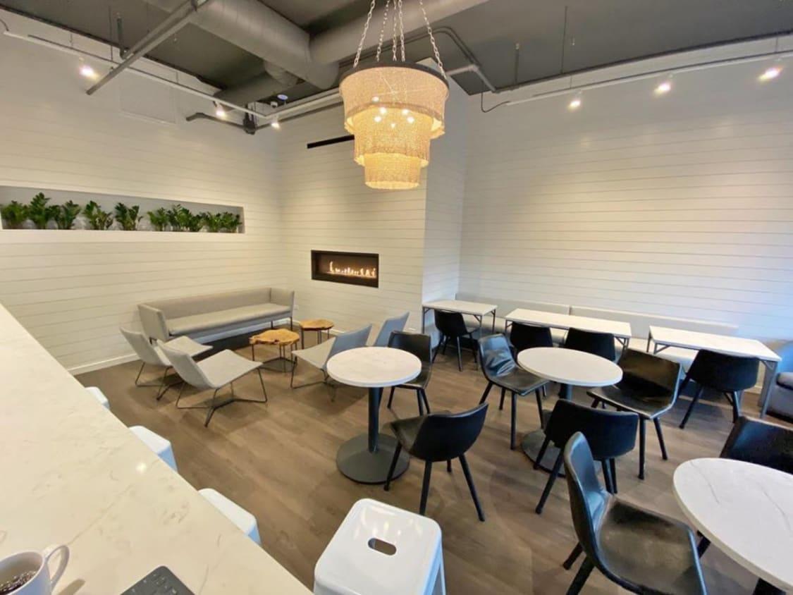 Modern Cafe Restaurant Design