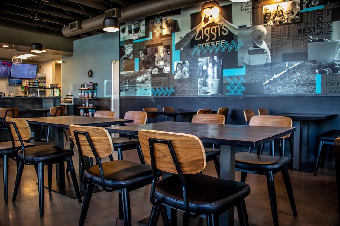 Urban Style Cafe Restaurant Design