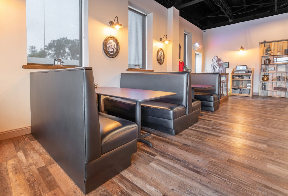 Restaurant Furniture - booths and tables