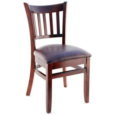 Premium US Vertical Slat Wood Chair