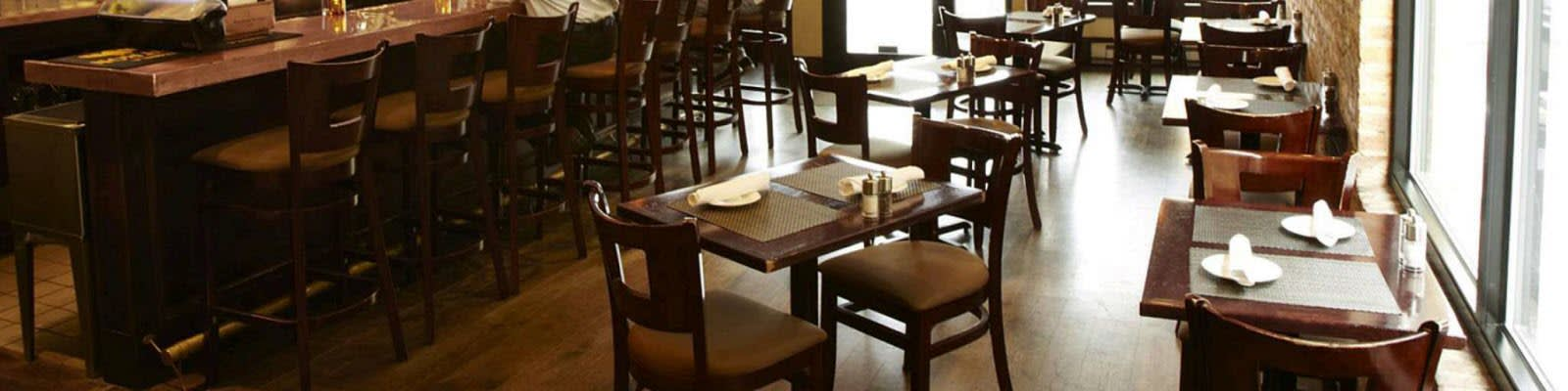 Wood restaurant furniture