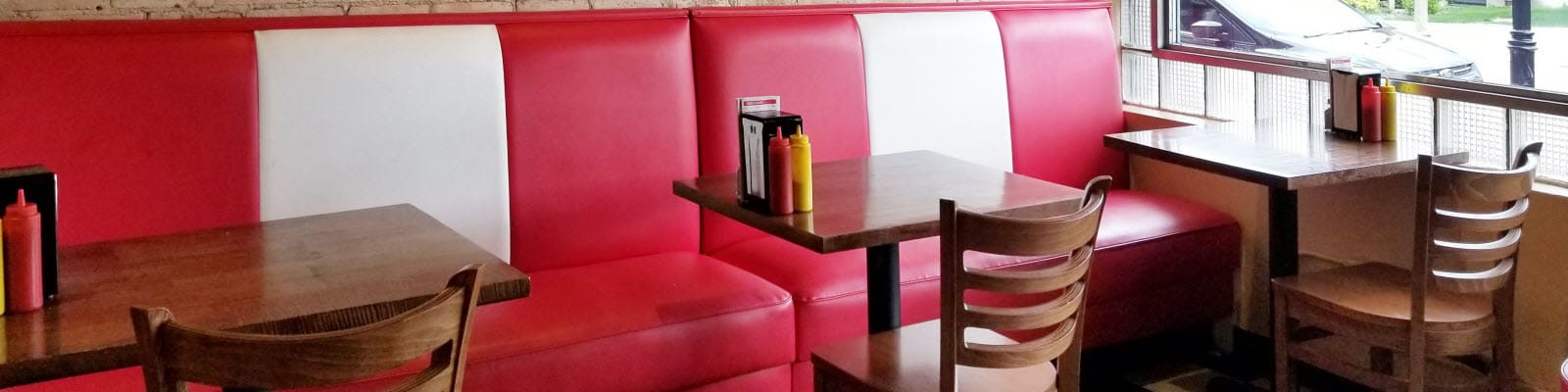 Restaurant Wall Bench Seating
