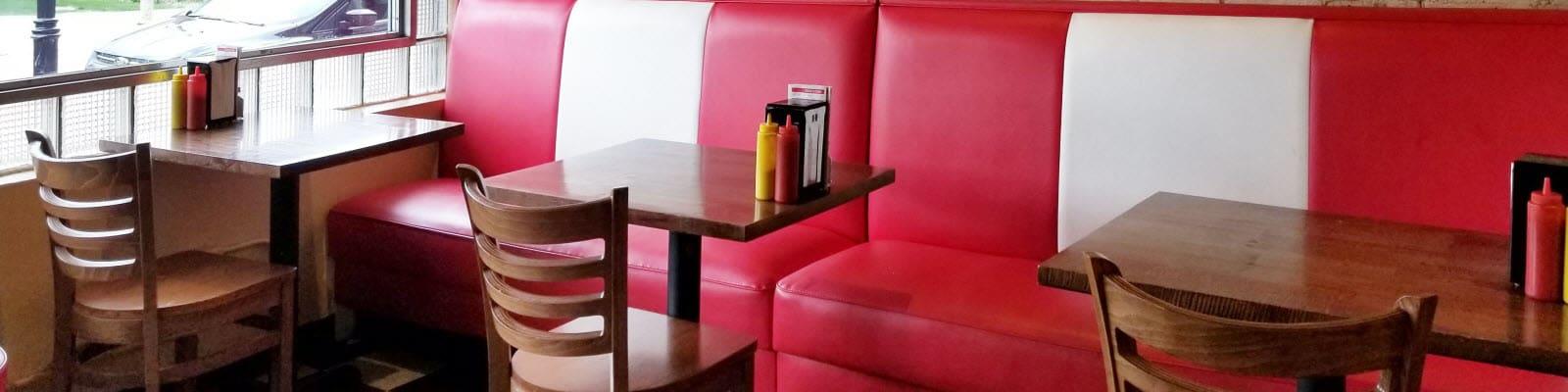 Diner furniture and design