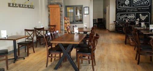 Modern cafe restaurant and design