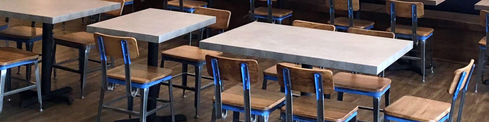 Industrial restaurant furniture