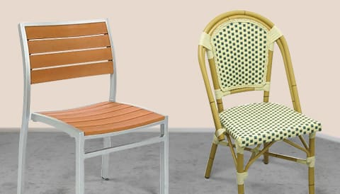 Commercial Patio Outdoor Furniture Chairs Tables Booths