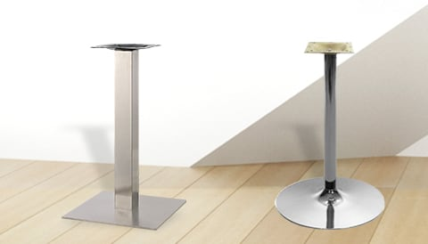 Chrome Table Bases