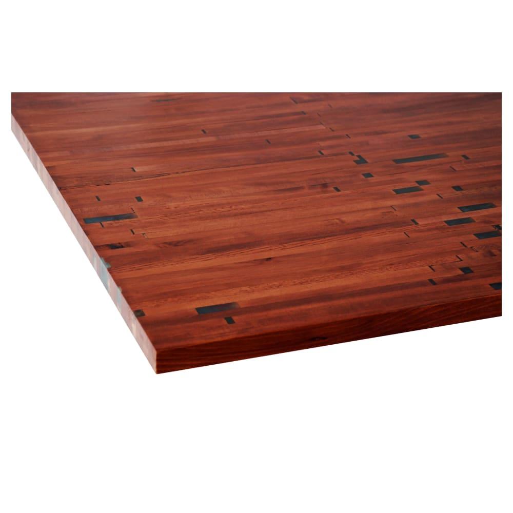 Rustic Solid Wood Butcher Block Table Top