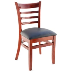 Premium US Made Ladder Back Wood Restaurant Chair