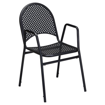 Beach House Metal Outdoor Patio Chair