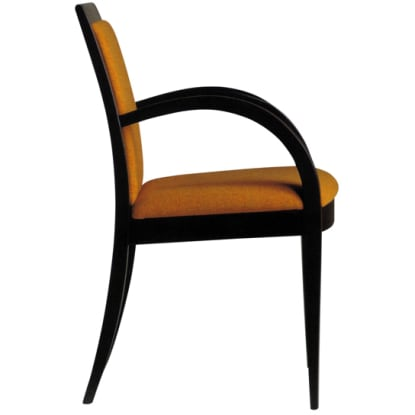 Modern Style Wood Arm Chair