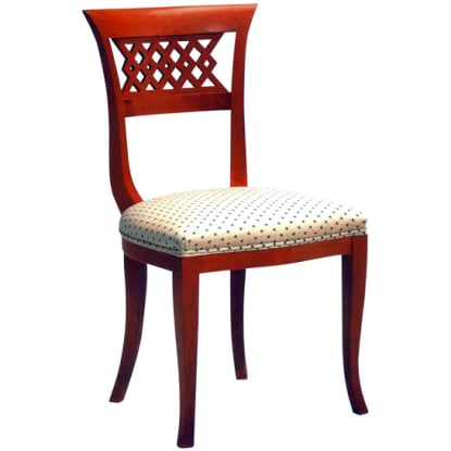 Woven Beidermeir Side Chair