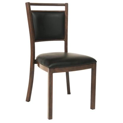 Wood Grain Aluminum Restaurant Chair