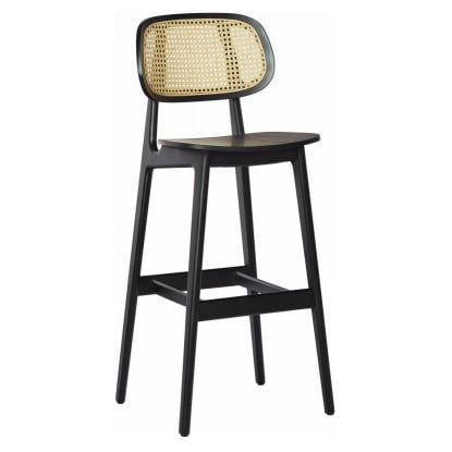 Cane Wood Restaurant Bar Stool