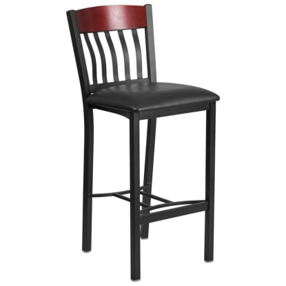 Metal Schoolhouse Bar Stool