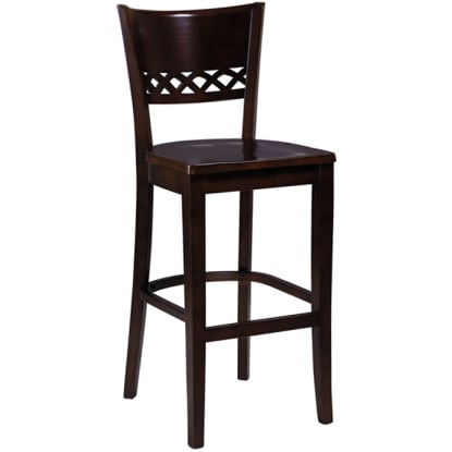 Lauren Wood Bar Stool