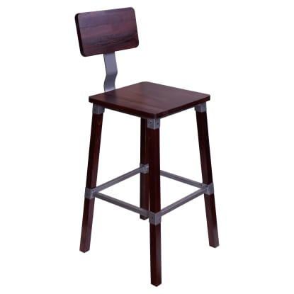 Malcolm Industrial Bar Stool