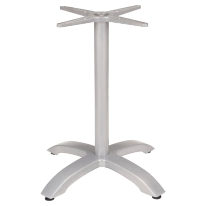 "Modern Aluminum Table Base (30"" Table Height)"