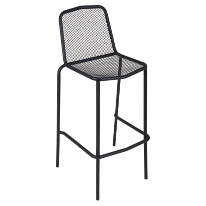 European Style Micro-Mesh Patio Bar Stool
