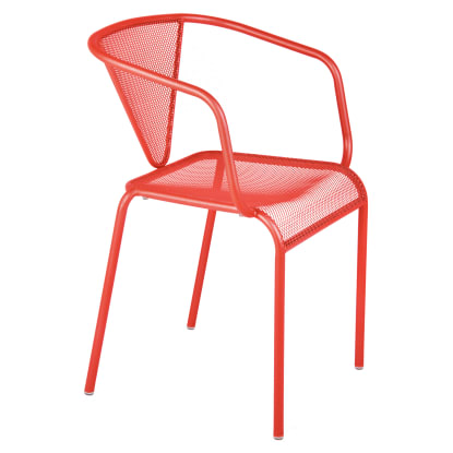 Clarius Outdoor Metal Arm Chair