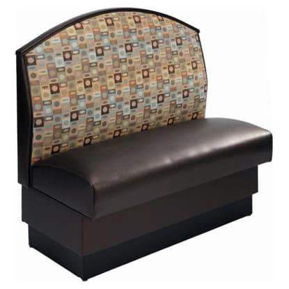 Fan Back Booth - Single