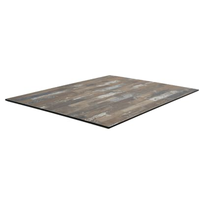 Commercial Outdoor Laminate Table Top with Phenolic Edge