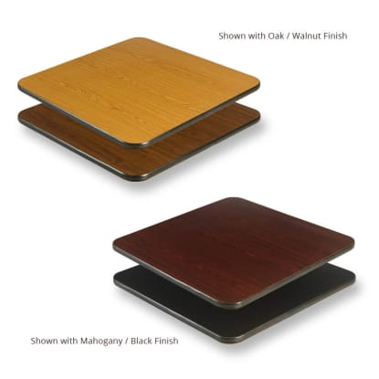 Reversible Table Tops