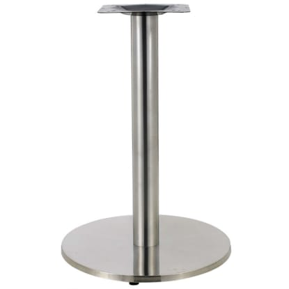 Round Stainless Steel Table Bases