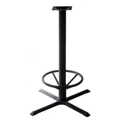 "X Prong Table Base - 42"" Pub Height"