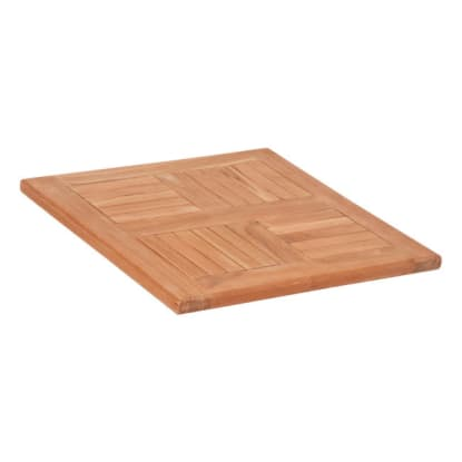 Teak Restaurant Table Top