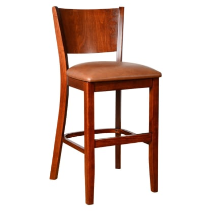Premium US Made Giotto Wood Counter Stool
