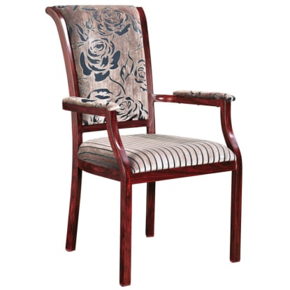 Sybil Senior Living Aluminum Arm Chair