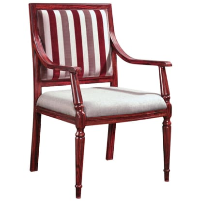 Colonial Style Senior Living Aluminum Arm Chair