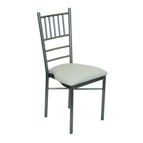 Silver Vein Metal Chiavari Chair