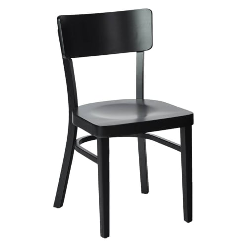 Xander Wood Curved Back Chair