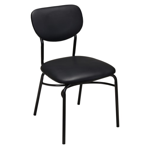 Xavi Padded Metal Chair