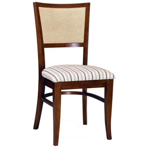 Jordan Fully Upholstered Wood Chair