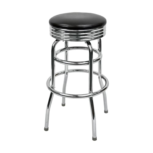 Swivel Bar Stool with a Single / Double Ring