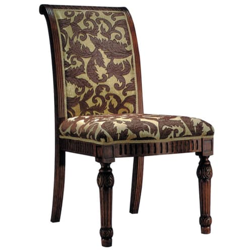 Go-Al Fully Upholstered Wood Chair