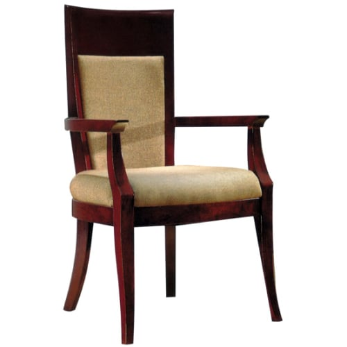 Franchesca Wood Arm Chair