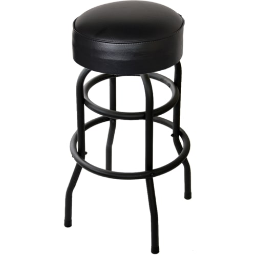Swivel Bar Stool with a Double Ring