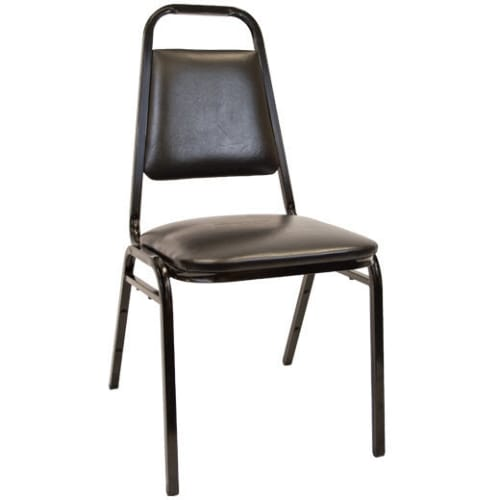 """Commercial Stack Chair With 1.5"""" Thick Cushion"""